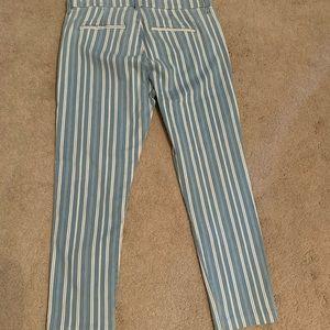 Loft Ankle Length Modern Skinny Pants Size 12
